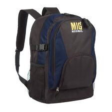 Classic Backpack & Rucksack Bags By MIG - TRAVEL HIKING CAMPING SPORT - NAVY 219