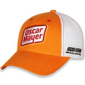 Ryan Newman #6 Oscar Mayer 2021 Sponsor Mesh Trucker Nascar Hat / Cap