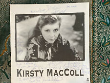 More details for kirsty maccoll signed promotional card titanic days