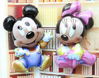 Disney Baby Minnie and Mickey Mouse Foil Balloons Decoration​ Girl Party Favor