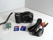 NIKON Digital Camera, COOLPIX L610 Full HD, 16 MPX, 14x Wide ZOOM ED VR