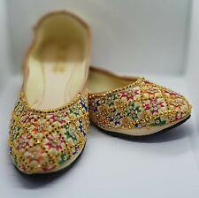 Punjabi Jutti /Women Shoes/Khussa/Traditional Shoes/FA Fashions Rainbow Beauty