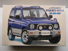 Fujimi 1:24 Scale Mitsubishi Pajero Mini XR-II Model Kit - New - Item 03381