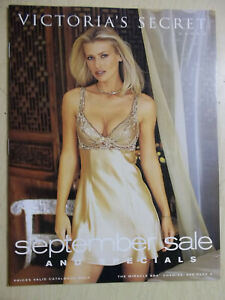 Victoria's Secret September Sale & Specials 1998 Daniela Pestova sexy cover