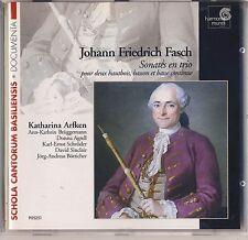 Johann Fasch - Katharina Arfken: Sonates en trio (2000, Harmonia Mundi) Like New