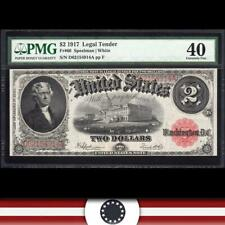1917 $2 Legal Tender Note *BRACELET BACK*  Fr 60 PMG 40  D62154914A