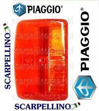 RMS Lente Freccia Arancio Anteriore Dx GILERA-PIAGGIO Orange Indicator Lense Right front GILERA-PIAGGIO