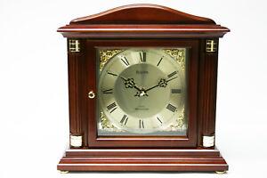 BULOVA MANTEL SHELF CLOCK - WESTMINSTER CHIMES -  B1843