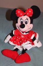 "10"" Disney - Minnie Mouse - Beanie Baby Plush Toy"