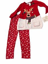Blueberi Boulevard Adorable 2- Piece Set Christmas Sweater Pants Size 5 New