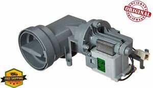 New OEM Whirlpool Washer Drain Pump WPW10605427, W10605427, W10799064, W10799065