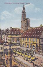 AK Strassburg, Hist. Museum und Münster, Feldpost 1943 gelaufen