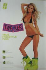 Forum Snowboards 2013 Tweaker Hot Girl promo Big poster Flawless New Old Stock