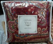 """Noble Excellence Villa Carrara Paisley King Size Quilted Pillow Sham 20""""x 36"""""""