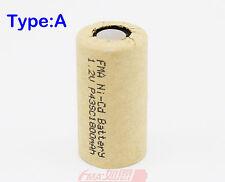 5Pcs Ni-Cd Sub C SC 1.2V 1800mAh Exit light Drill Tools Rechargeable Battery U/R