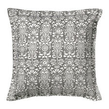 Flower Floral Grey and White Pattern 65cm Cushion Cover ÅKERKULLA NEW