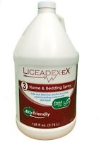 Lice Spray Furniture & Bedding Treatment Works on Contact - Liceadex-Ex 128oz