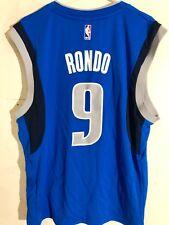 Adidas NBA Jersey Dallas Mavericks Rajon Rondo Blue sz L