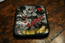 "disney mickey mouse minnie Zip Case for iPad Tablet Devices 10"" Inches Padded"