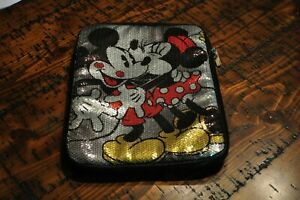 "disney mickey mouse minnie Zip Case for iPad Tablet Devices 10x8"" Inches Padded"