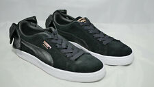 Puma Suede Basket Bow - Sneaker mit Schleife - Größe 39 Schwarz Black - Neu