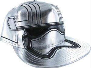 Star Wars Captain Phasma Commander Adjustable Snapback Cap/Hat