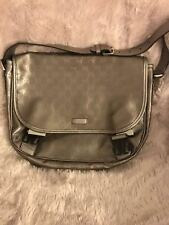 AUTHENTIC GUCCI GG LOGO messenger CROSSBODY BAG  Pre Owned