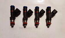 Bosch 0280158117 62lb 650cc EV14 High Imp Fuel Injectors (4) Honda Ford Dodge