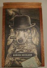 New ListingCornelius & Anthony Señor Esugars Cigar Box, Empty Box, 6.5in x 4.25in x 4.25in