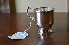 Vintage EPNS Yeoman plate christening mug