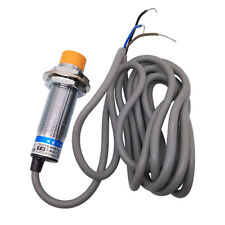 Us Stock Ljc18a3 B Zay 3wire 10mm Capacitive Proximity Sensor Switch Pnp Nc
