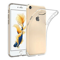 Luxury Ultra Slim Shockproof Silicone Clear protecting Case Cover for iPhone 7