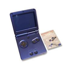 Gameboy game boy advance gba sp bleu azur remplacement shell housing w outils uk