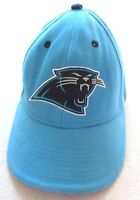 Carolina Panthers NFL Baseball Hat Cap Blue Adjustable Embroidered Logo Cotton