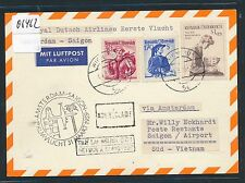 06462) KLM FF Amsterdam - Saigon 31.3.59, Karte ab Österreich