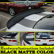 MATTE BLACK 2014-2015 Chevy Camaro SS Factory Z28 Blade Style Spoiler Wing ABS