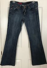 "Women's AG Adriano Goldschmied Jeans Low Rise ""The Club"" Stretch Flare 30W 29L"