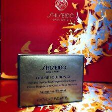 1x Shiseido FUTURE SOLUTION LX Eye and Lip Contour Regenerating Cream E 17ml NIB