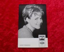 Conny Froboess-COLUMBIA EMI AUTOGRAFO MAPPA CARTA CARD DRW 3815 F