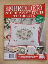 Embroidery & Cross Stitch Vol 23 #5~Xmas Special~Journal~Tree~Tea Cosy~Beading