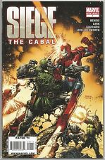 Siege #1 : The Cabal : Marvel comic book