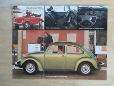 VOLKSWAGEN BEETLE orig 1976 1977 USA Mkt Sales Leaflet Brochure - VW Convertible