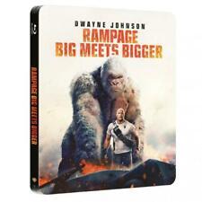 Rampage - Big meets Bigger - Limited Steelbook Edition  NEU OVP Blu Ray