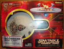 "STAR TREK II U.S.S. ENTERPRISE NCC-1701 BATTLE DAMAGE EDITION 16"" ART ASYLUM"