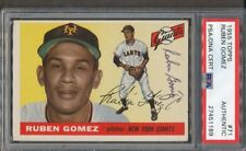 1955 Topps #71 SIGNED Ruben Gomez PSA/DNA Certified Authentic auto