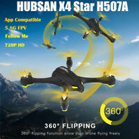 Hubsan H507A X4 Star Wifi FPV RC Quadcopter Drone 720P Camera WayPoint GPS RTF