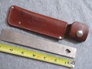 vintage Schrade Old Timer Honesteel sharpening bar lot K