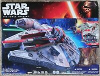 STAR WARS THE FORCE AWAKENS MILLENNIUM FALCON SET! (NEW & FACTORY SEALED) WOW!