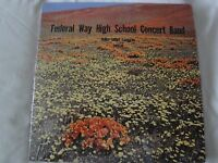 Federal Way High School Concert Band Vinyl Lp 1969-70 Terry Grove, Conductor Ex