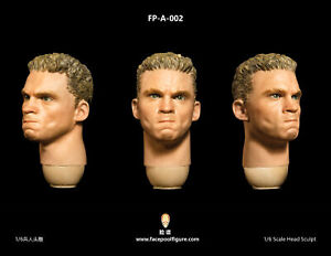 FacepoolFigure 1/6 Male Head Sculpt with Expression FP-A-002